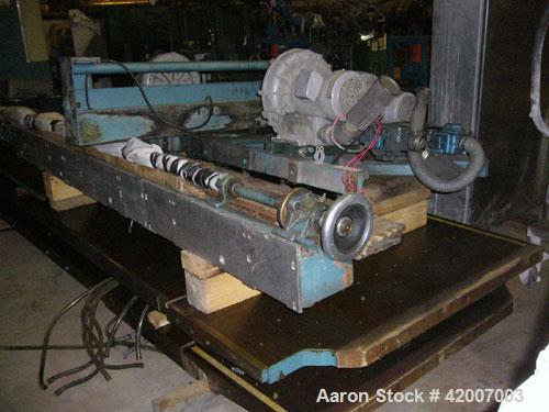"Used- Lawson Paper Trimmer, Model MPU110, 110"" wide. Micro Processor controlled, 96"" back guage."