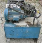 USED: Goodman hydraulic guillotine cutter, model 15. (1) 30