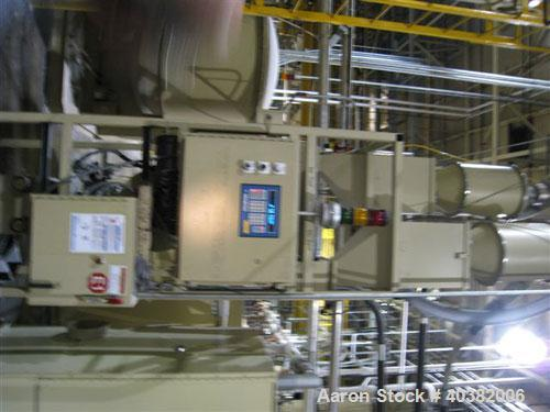 USED-Novatech model NGBBS-2, 2 component blending system. Package includes 2 component blenderwith hoppers mounted on load c...