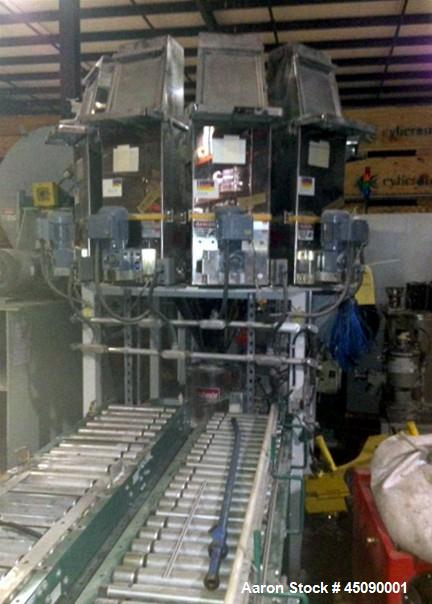 Used-Brabender MicroBatch Carousel Feeding System