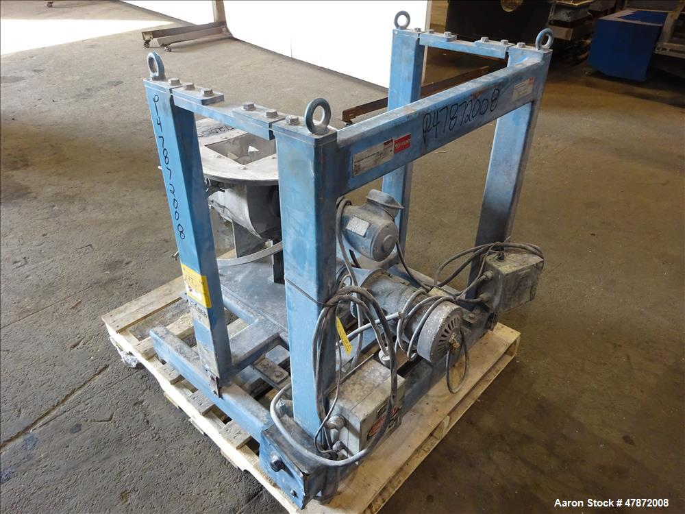 Used- Brabender Loss-In-Weight (3) Component Feeding System. Consisting of (1) Brabender Screw feeder, model DDW-H33 (Missin...