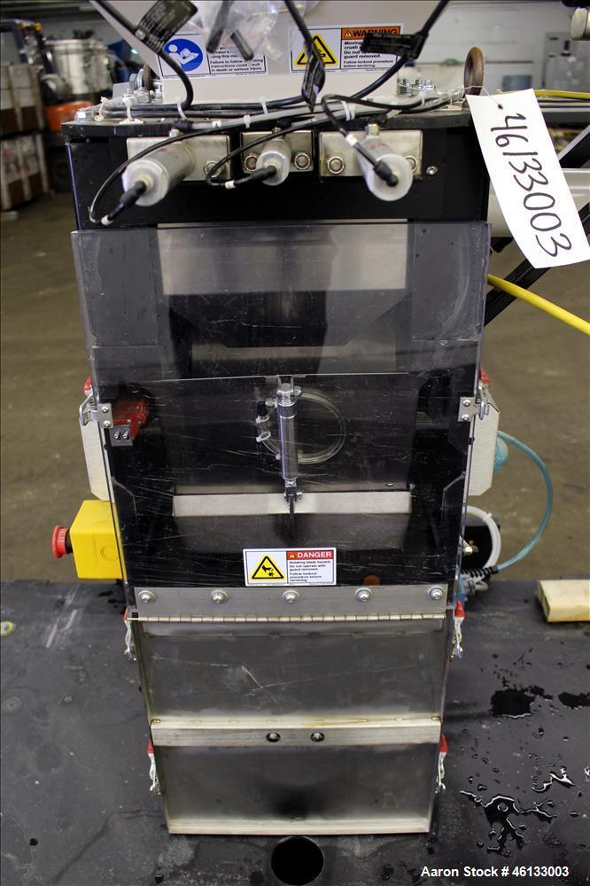 Used- Colortronic 6 Component Gravimetric Slide Gate Blender, Model CSG-900-6R.