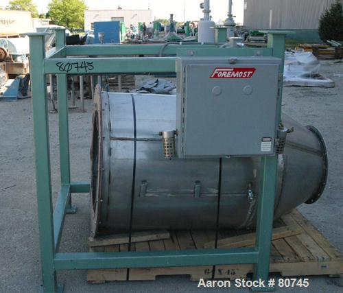 Used- Foremost Machine Builders 5 Component Conveying System, Model LWB-BM-5. Unit includes a Sutorbilt model 4MP 10 hp blow...