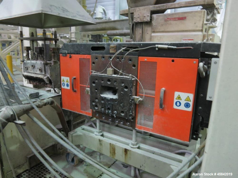 Used-Gerike Extruder Feeding System Incl. 3 Feeders and 1 Screw Conveyer in Stainless Steel, Control Panel.