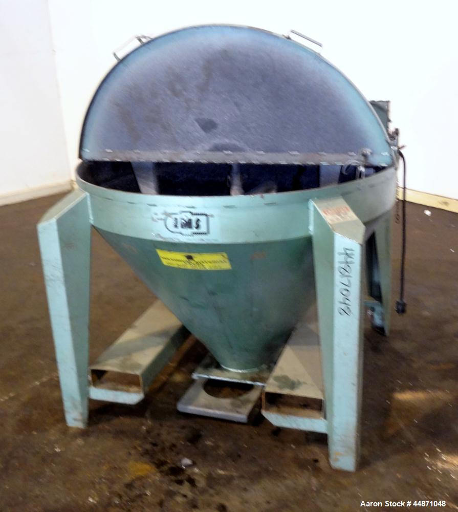 Used- IMS Hurricane Mixer, Model HM-500, Carbon Steel
