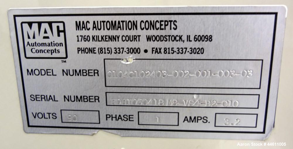 Used- Mac Automation Concepts Carousel Filling System