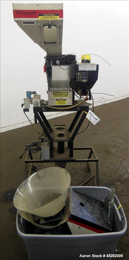 Used- McGuire 3 Color Weigh Scale Blender, Model W-140RM1