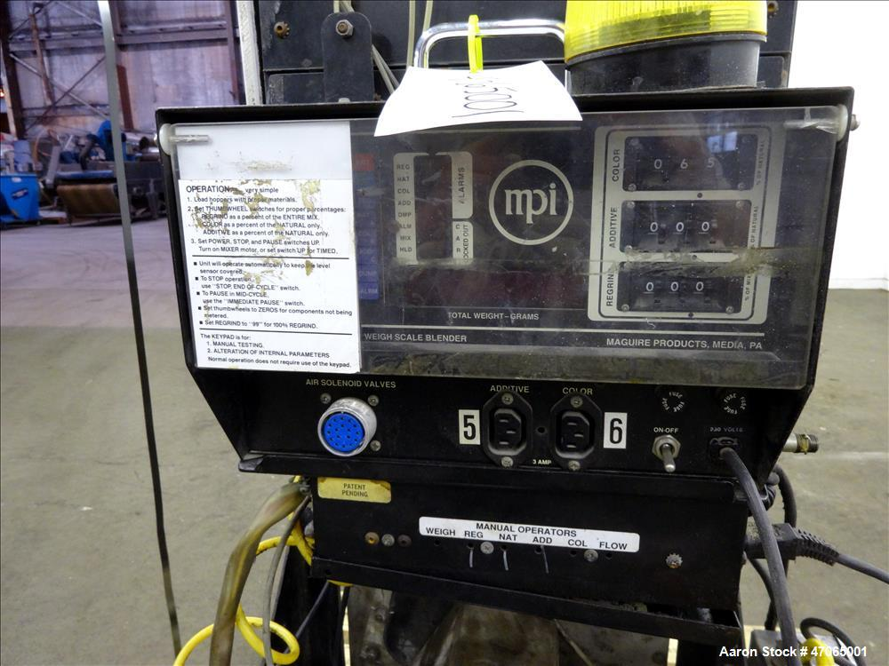Used- Maguire Weigh Scale Blender, Model WSB-1831.