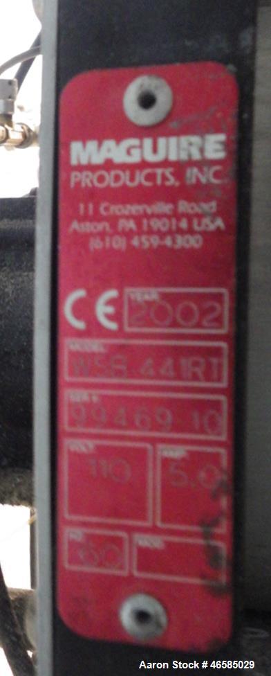 Used- Maguire Weigh Scale Blender, Model WSB-44IRT Gravimetric Blender.