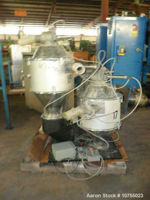 Used-Maguire Model WSB240F 4 Component Blender. Up to 900 lbs/hour, 4 slide gates, hopper material level sensors, hopper sit...