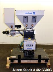 Used- Colortronic 6 Component Gravimetric Slide Gate Blender, Model CSG-900-6R.