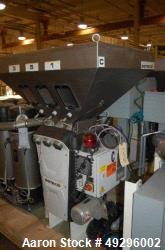 "Used-Doteco 6-component gravimetric blending system Model ""Grado"", Type J60. Serial #24SN4903. Includes (6) receivers, opera..."
