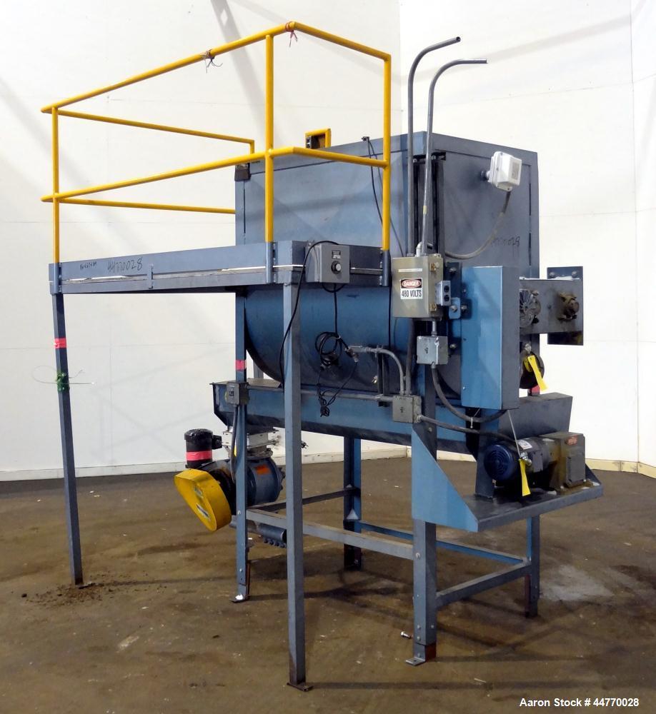 Used- Carbon Steel NBE National Bulk Equipment Blender / Feeder