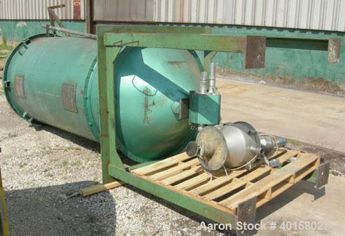 Used- Carbon Steel Non-insulated Drying Hopper