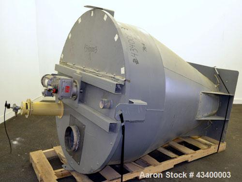 Used- Carbon Steel Agitated Hopper/Feeder,
