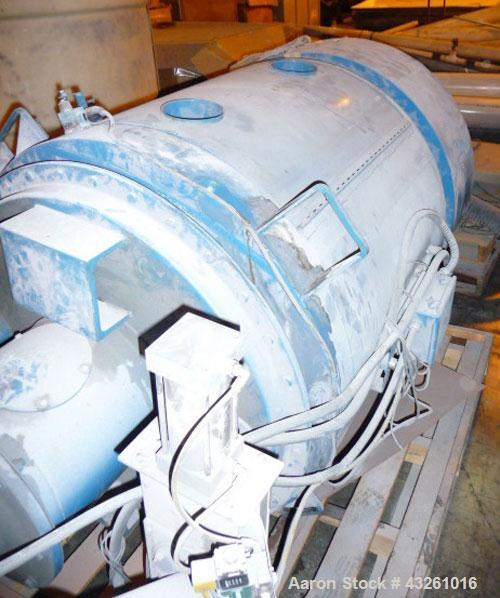 Used- Carbon Steel Novatec Agitated Hopper, Model CCR-500