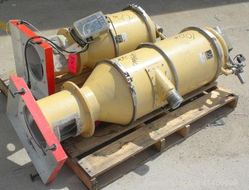 "Used- Premier Pneumatics Pro Rate 6 Component Feed System. (6) 17"" x 17"" feed hoppers. Includes (2) vacuum loaders, (4) 1/4 ..."
