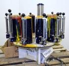 Used- Harbil Manual Paint Colorant Dispenser, Model 12NSC228. (12) Canister.