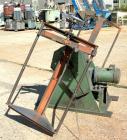 Used- IMS Dual Drum Tumbler, Model TB-0355. Capacity (2) 55 gallon drums at 280 pounds per drum, minimum/maximum height 25