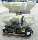 Used- NuCon Systems Incorporated 3 Color Blending/Feeding System Consisting Of: (3) 16