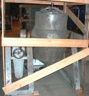 USED: Shinheung tumble mixer, model SHM. 70 gallon (9.3 cu ft) total capacity, 304 stainless steel. 24
