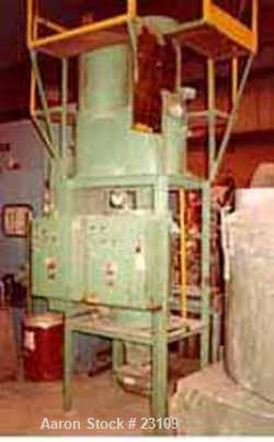 USED: Unadyne blender/loader. Hopper loader Model 1x. Serial #X173214, 212. 70 to 100 cfm. Unadyne blender Model V-2. 50 to ...