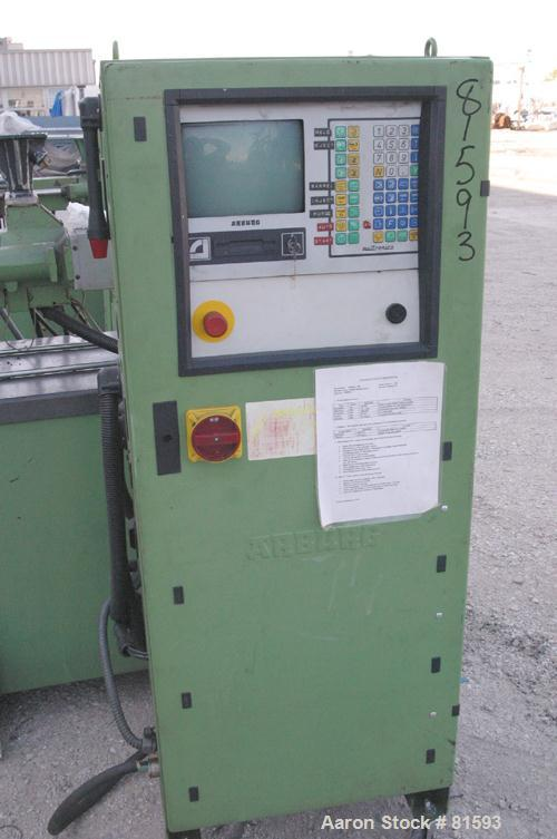 "USED: Arburg Allrounder injection mold machine, model 270M-250-75. 25 ton clamping pressure. Platen size 15.74"" x 15.74"". Di..."