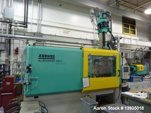Used-Arburg Model 630S-2500-800/400