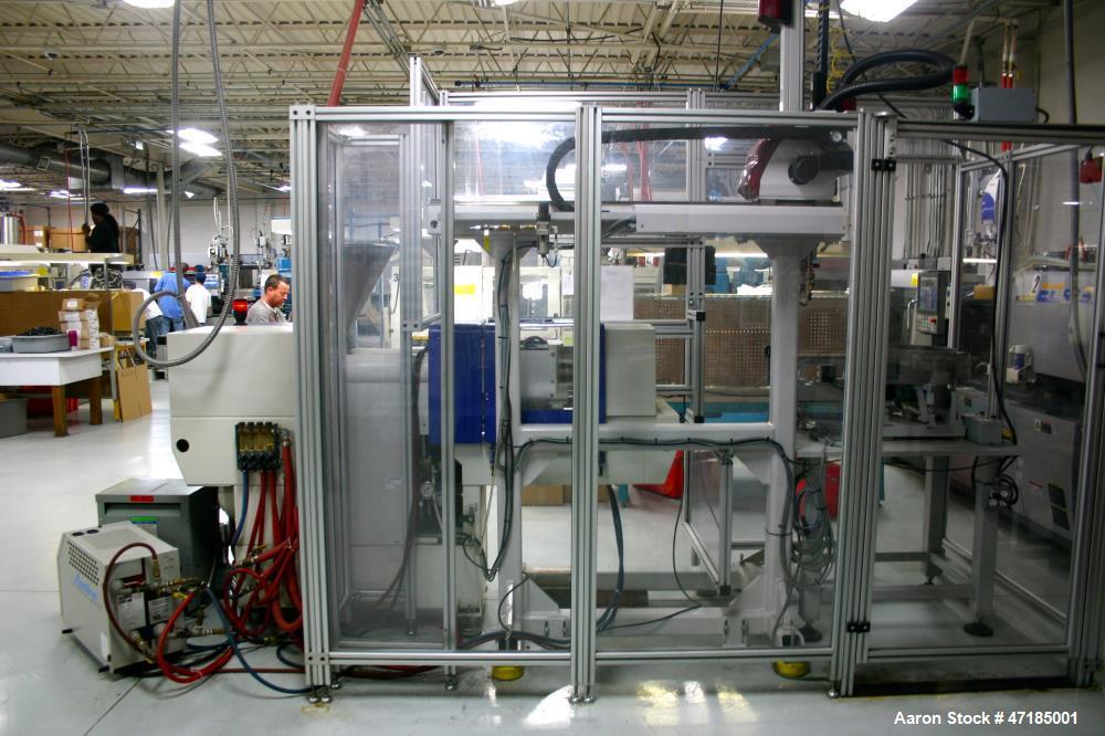 "Used- Battenfeld Injection Molding Machine, Model 35/75. B2 Controls, 18MM screw diameter, 1/2"" nozzle radius. 230V/3/60 mai..."