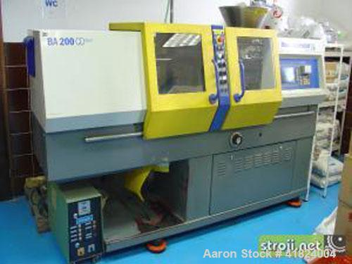 "Used-Battenfeld BA 200 CD Plus Injection Molding Machine. 20 ton clamping pressure, plate size 10"" x 10"" (254 x 254 mm), max..."