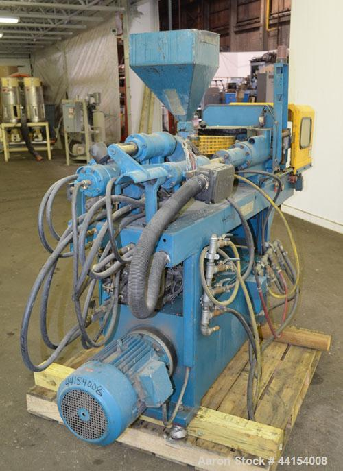 Used- Boy Machines 22 S Dipronic Horizontal Injection Molder
