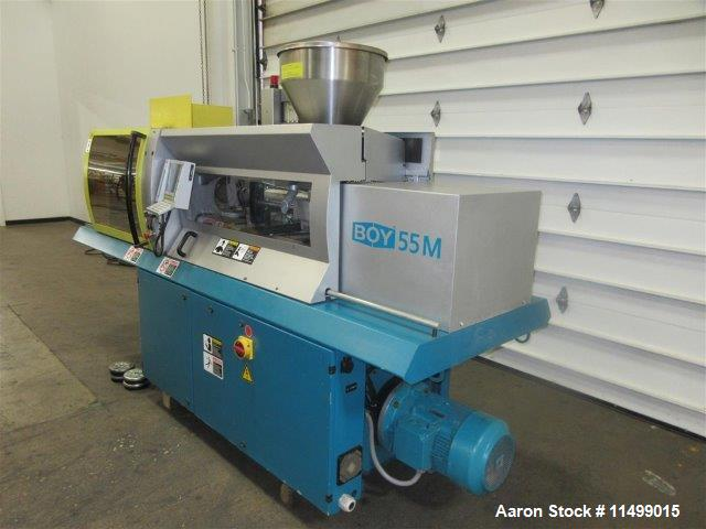 Used- Boy Horizontal Injection Mold Machine, Model 55M. Procan MD Controller, 230 Volt, 3 Phase, 60 Hz., Year 2004, 32420 Ho...