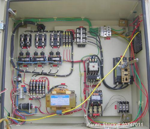 Used- Cincinnati Milacron Vista Toggle Horizontal Injection Molder, 85 Ton, Model VST85-5CE. Clamp force 85 ton, clamp strok...