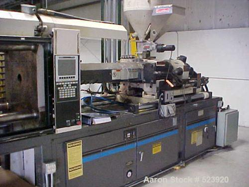 USED: 250 ton, 29 oz, Cincinnati injection molding machine, model VH250-29, type Vista Hydraulic. New 1995. 63,949 hours. Pl...