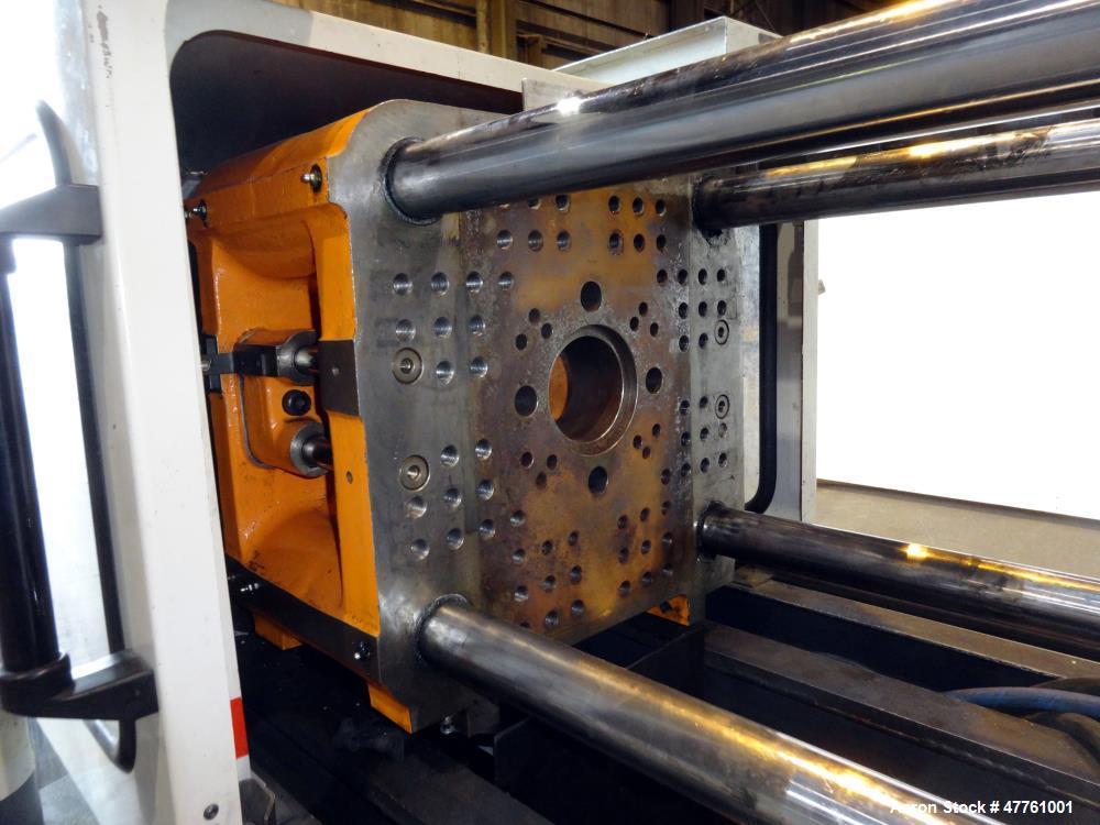 Used- Cincinnati Milacron Vista 55 Ton Injection Molding Machine, Model VSX55, 4.44 OZ, 1998 Vintage.