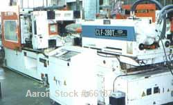 "USED: CLF (Chuan Lih Fa) injection molder, model CLF-280-T, new 1990. 309 ton clamp force, 36.42"" X 34.64"" platen size, 24.4..."