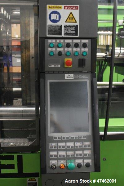 Used- Engel Injection Molding Machine, Model: elast 2000/440 H US. Horizontal unit with fixed nozzle. Clamp Force 4000 kN. H...