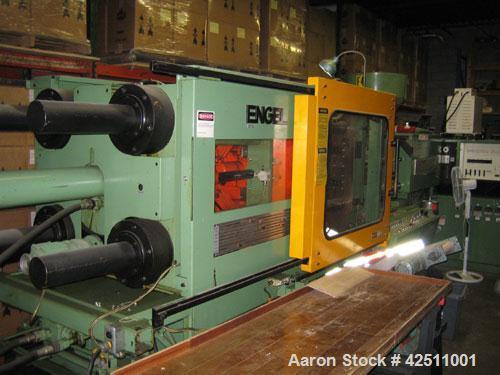 "Used-Engel 275 Ton Plastic Injection Molding Machine, model ES-750/275.  12.20 oz shot size, 20.08"" x 20.08"" TBS, 33.07"" x 3..."