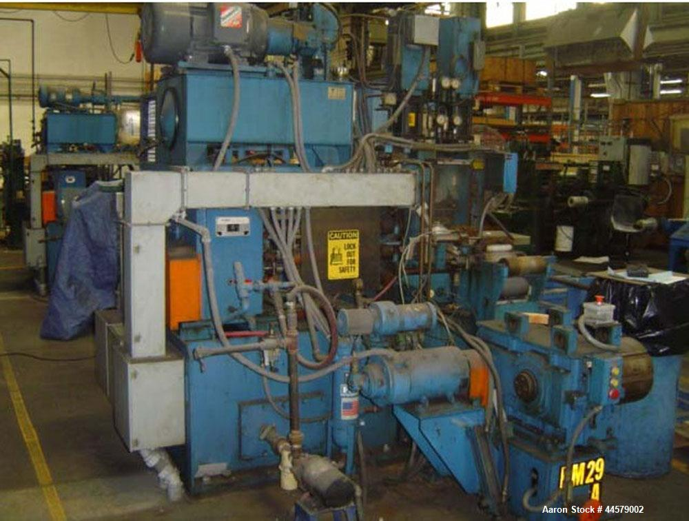 "Used-Ettlinger SRM 250 Injection Molder. L/D 19.  Screw dimension 3.9"" (100 mm).  Hydraulic screw drive.  Maximum injection ..."