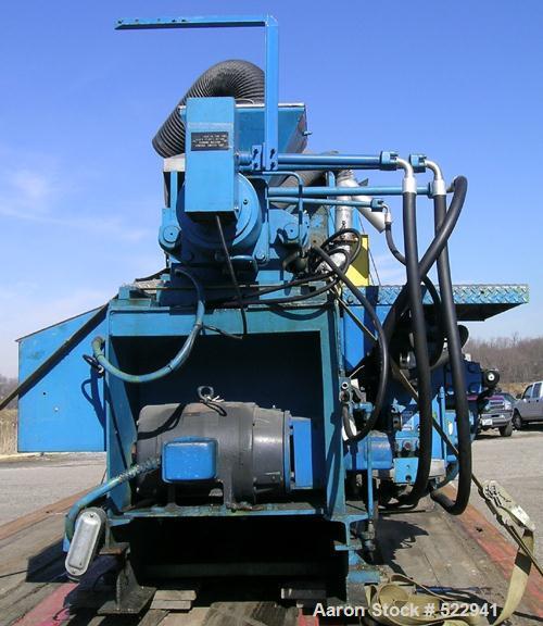 USED: HPM Corporation injection molding machine, model 200IX-6.100-300 US ton clamping force. Minimum 4 ounce shot size. 36,...