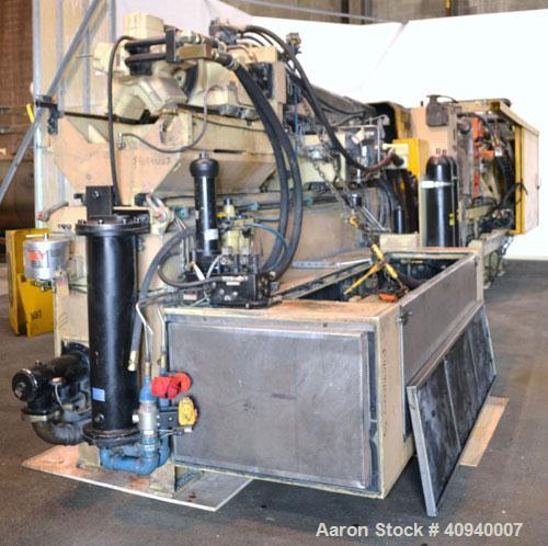 Used- Husky Horizontal Injection Mold Machine, 500 Tons, Model LX500