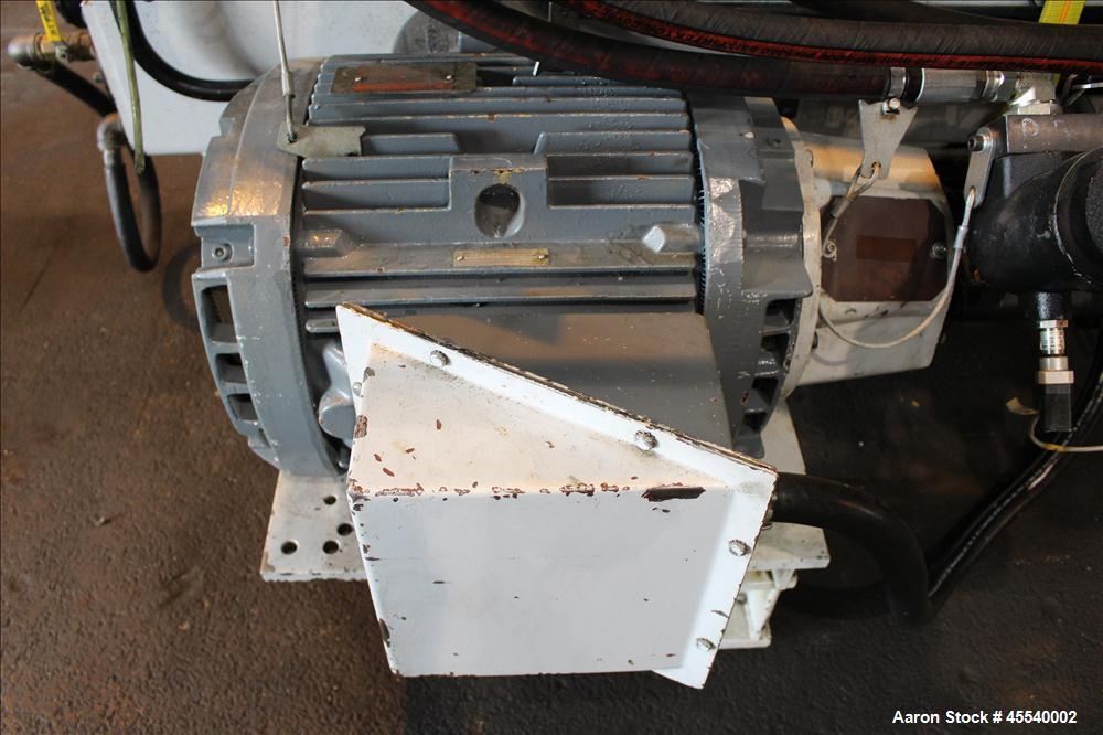 Used- Husky Horizontal Injection Mold Machine, Model SX300.