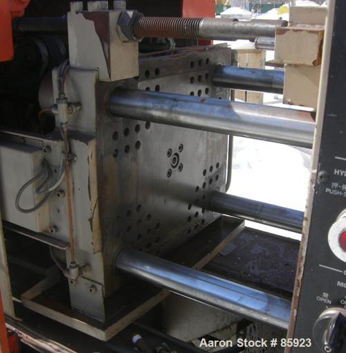 """Used- JSW Toggle Injection Molding Machine, Model J28SC, 30.86 Ton. Platen size approximately 14-7/8"""" x 13-3/8"""". Distance be..."""
