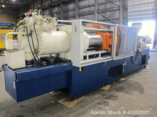Used- Krauss Maffei Horizontal Injection Molder, 250 Tons, Model 250-1650 B2