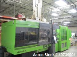 Used- Engel 440 Ton Rubber Injection Molding Machine, Model Elast 2000/440H.