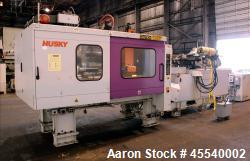 Used- Husky Horizontal Injection Mold Machine, Model SX300.