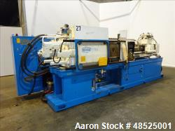 Used- Nestal Horizontal Injection Mold Machine, Model HP1000/445