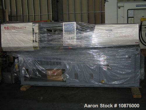 "Used-Nissei 44 ton 1.6 oz, model ES400. Type: electric. New: 2000. Platen size 17.90"" x 17.90"". Distance between tie bars 12..."