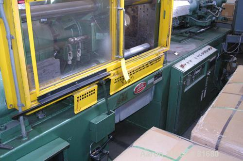 "USED: Nissei horizontal injection molding machine, model FS-150/355. 150 ton clamping force. Platens 26-3/4"" wide x 23-1/2"" ..."