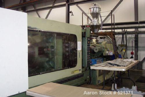 USED: Nissei injection molding machine, model PS860S420BSE. 860 metrictons (948 US), 180 oz, NC8000 controls, robot interfac...